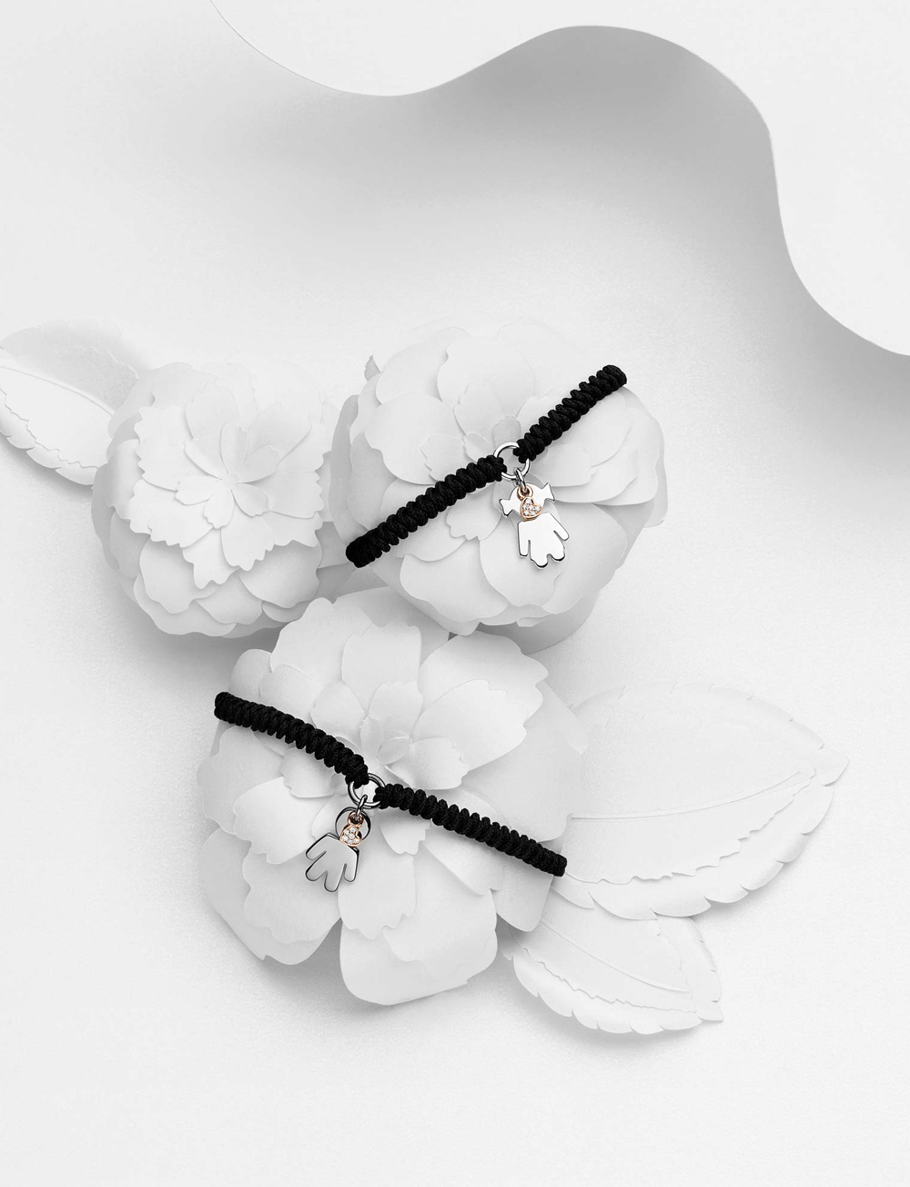 Bimbo Bimba bracelets silver and brilliants | Easy - by Crivelli