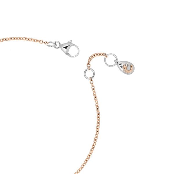 Bracciale Bimbo oro bianco rosa e brillanti | Easy - Un marchio Crivelli