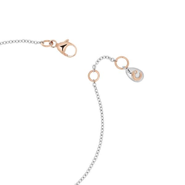 Bracciale Bimba oro bianco rosa e brillante | Easy - Un marchio Crivelli
