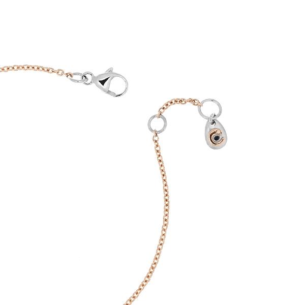 Bracciale Bimba oro bianco rosa e brillanti | Easy - Un marchio Crivelli